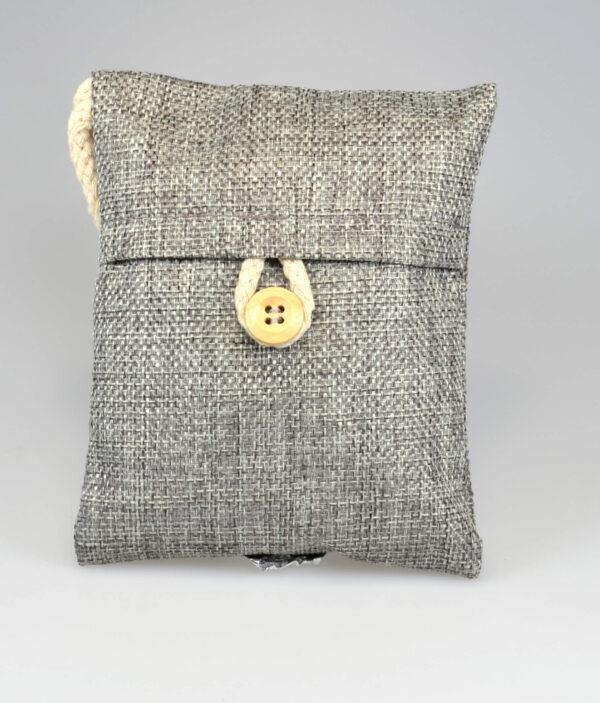 Sumi Pose med aktivt kul granulat fra japanske egetræ Grå