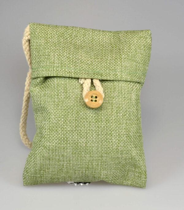 Sumi Pose med aktivt kul granulat fra japanske egetræ Grøn